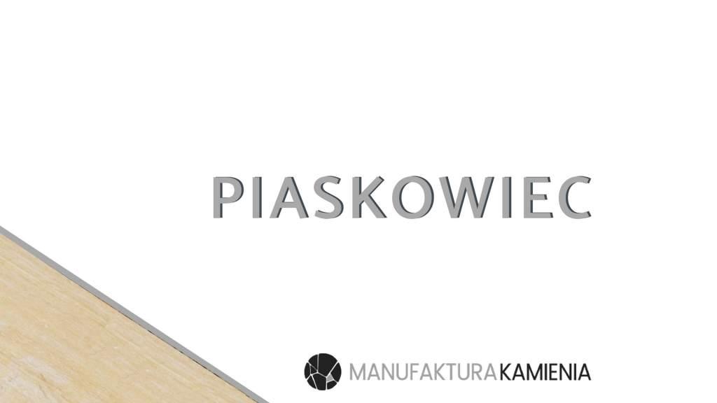 Kamienie naturalne – Piaskowiec
